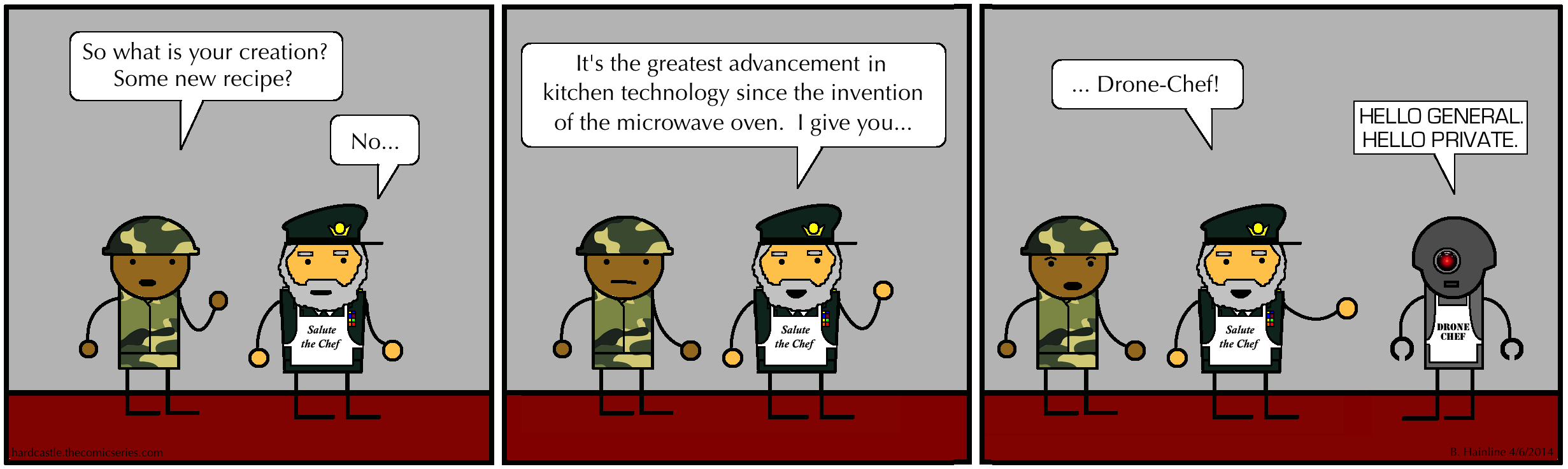 Drone-Chef